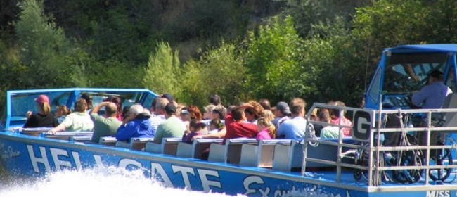 Picture of Hellgate Jetboat Excursion taken by MD Vaden.